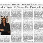 Read about ELS Partner Chandra C. Davis' Passion for Law in the The Pingry Record!