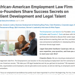 Next Generation Leadership:  Advancing Lawyers of Color Initiative