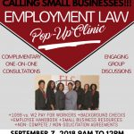 Free Employment Law Pop-Up Clinic for Small Businesses