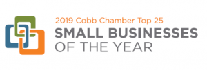 2019 Cobb Chamber Top 25 SMALL BUSINESS OF THE YEAR