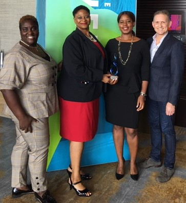 Kelly-Ann Clarke, Assistant Vice President, Senior Legal Counsel, Human Resources at AT&T Chandra C. Davis and Jamala McFadden of The Employment Law Solution: McFadden Davis and Alan Dorantes, Assistant Vice President-Senior Counsel-Human Resource AT&T